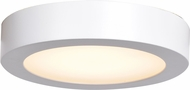Access 20070LEDD-WH-ACR Ulko Exterior Modern White LED Outdoor Small Ceiling Light