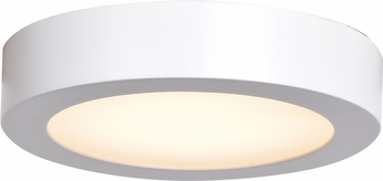 Access 20071LEDD-WH-ACR Ulko Exterior Modern White LED Outdoor Medium Ceiling Lighting Fixture