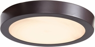 Access 20072LEDD-BRZ-ACR Ulko Exterior Contemporary Bronze LED Outdoor 9  Ceiling Lighting Fixture