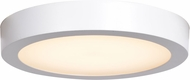 Access 20072LEDD-WH-ACR Ulko Exterior Modern White LED Outdoor Large Flush Lighting