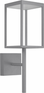 Access 20081LED-SG-CLR Reveal Contemporary Satin Gray LED Outdoor Wall Light Fixture