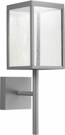 Access 20081LED-SG-SDG Reveal Contemporary Satin Gray LED Outdoor Wall Sconce Light