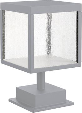 Access 20082LED-SG-SDG Reveal Contemporary Satin Gray LED Outdoor Pier Mount