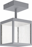 Access 20084LED-SG-SDG Reveal Contemporary Satin Gray LED Outdoor Ceiling Light