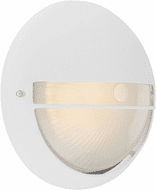 Access 20260LEDDMG-WH/OPL Clifton White LED Exterior Wall Mounted Lamp