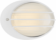 Access 20280LEDDMG-WH/OPL Cabo White LED Exterior Wall Lamp