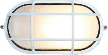 Access 20290-WH-FST Nauticus Modern White Exterior Bulkhead Wall Lighting Sconce