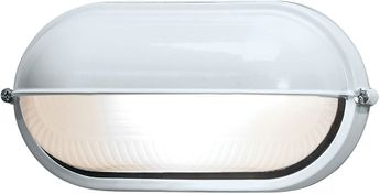 Access 20291-WH-FST Nauticus Contemporary White Outdoor Bulkhead Wall Light Sconce