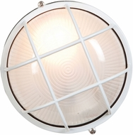 Access 20294LEDDLP-WH-FST Nauticus Contemporary White LED Outdoor Bulkhead Wall Lighting