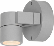 Access 20351LEDDMGLP-SAT-CLR KO Modern Satin LED Exterior Wall Lighting