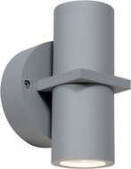 Access 20352LEDDMGLP-SAT-CLR KO Modern Satin LED Outdoor Lighting Sconce