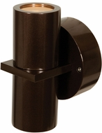 Access 20352MG-BRZ-CLR KO Contemporary Bronze Halogen Exterior Light Sconce