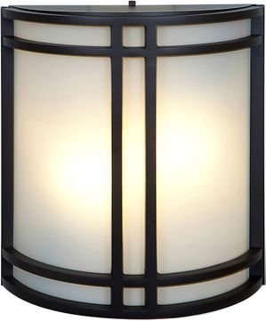 Access 20362LEDDLP-BRZ-OPL-27K Artemis Contemporary Bronze LED Outdoor Wall Light Fixture