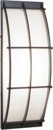 Access 20373LEDDLP-BRZ-OPL Tyro Contemporary Bronze LED Outdoor Wall Lighting Sconce