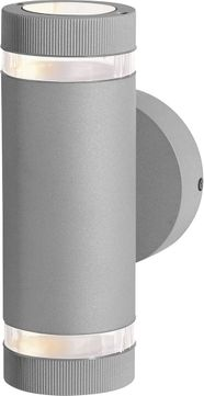Access 20385MG-SAT-CLR Poseidon Modern Satin Halogen Outdoor Lighting Wall Sconce