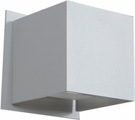 Access 20399LED-WH Square Modern White & White Metal LED Exterior Wall Light Sconce