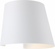 Access 20399LEDMGCNE-WH Cone Contemporary White LED Outdoor Sconce Lighting