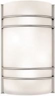 Access 20416LEDSWAD-BS-OPL Artemis Contemporary Brushed Steel LED Wall Sconce
