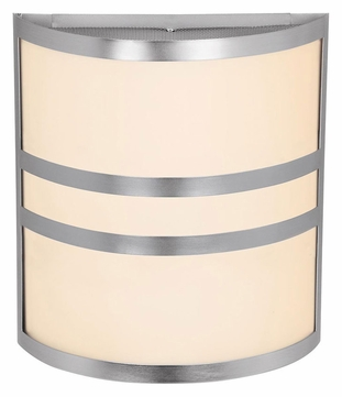 Access 20440 Artemis�11 Inch Tall Transitional Brushed Steel Wall Lighting