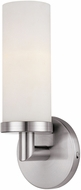 Access 20441LEDDLP-BS-OPL Aqueous Modern Brushed Steel LED Wall Light Sconce