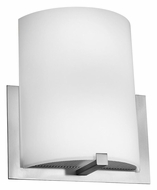 Access 20445-BS Cobalt 12 Inch Wide Transitional Wall Light Fixture - Brushed Steel