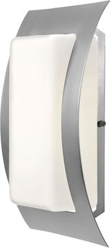 Access 20449LEDDLP-SAT-OPL Eclipse Contemporary Satin LED Outdoor Wall Light Sconce