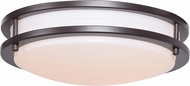Access 20464GU-BRZ-ACR Solero Bronze Flourescent 12  Flush Mount Lighting