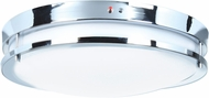 Access 20465LEDEM-CH-ACR Solero Modern Chrome LED 14  Flush Lighting