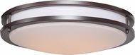 Access 20466LEDD-BRZ-ACR Solero Bronze LED 18  Flush Mount Ceiling Light Fixture