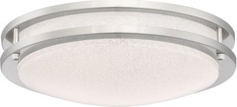 Access 20471LEDD-BS-SACR Sparc Contemporary Brushed Steel LED 14 Ceiling Lighting Fixture