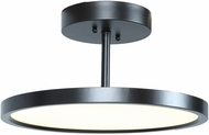 Access 20494LEDD-ORB-ACR Sphere Modern Oil Rubbed Bronze LED Flush Mount Ceiling Light Fixture