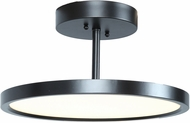 Access 20494LEDD-ORB-ACR Sphere Contemporary Oil Rubbed Bronze LED Flush Mount Lighting Fixture
