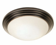 Access 20651-ORB Strata Flush Mount Oil Rubbed Bronze 14 Inch Diameter Ceiling Lighting