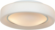 Access 20680LEDD-CH-OPL Splash Contemporary Chrome & Opal Glass LED Ceiling Lighting