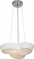 Access 20689-CH-OPL Pebble Contemporary Chrome Finish 19.5  Wide Pendant Light