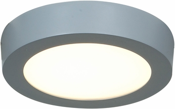 Access 20770LEDD-SILV-ACR Strike Contemporary Silver & White Acrylic LED Flush Mount Lighting