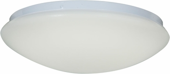 Access 20780LEDD-WH-ACR Catch Modern White & White Acrylic LED Flush Ceiling Light Fixture