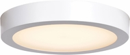 Access 20792LEDD-WH-ACR Ulko Exterior Modern White LED Outdoor 9  Flush Lighting