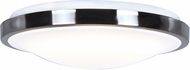 Access 20799LEDMS-BS-ACR Lucid Contemporary White LED Ceiling Light Fixture