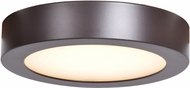 Access 20800LEDD-BRZ-ACR Strike 2.0 Modern Bronze LED 7  Flush Ceiling Light Fixture