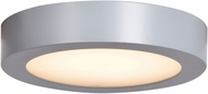 Access 20800LEDD-SILV-ACR Strike 2.0 Modern Silver LED 7  Flush Mount Ceiling Light Fixture
