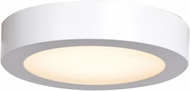 Access 20800LEDD-WH-ACR Strike 2.0 Contemporary White LED 7  Home Ceiling Lighting