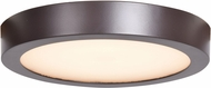 Access 20801LEDD-BRZ-ACR Strike 2.0 Contemporary Bronze LED 9.5  Overhead Light Fixture