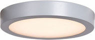 Access 20801LEDD-SILV-ACR Strike 2.0 Contemporary Silver LED 9.5  Overhead Lighting Fixture