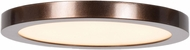 Access 20810LEDD-BRZ-ACR Disc Contemporary Bronze LED 5.5  Overhead Lighting