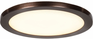 Access 20811LEDD-BRZ-ACR Disc Modern Bronze LED 7.5  Flush Ceiling Light Fixture
