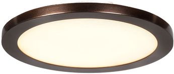 Access 20812LEDD-BRZ-ACR Disc Modern Bronze LED 9.5  Home Ceiling Lighting