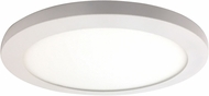 Access 20812LEDD-WH-ACR Disc Modern White LED 9.5  Overhead Lighting Fixture
