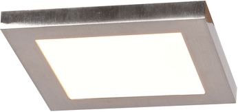 Access 20813LEDD-BS-ACR Boxer Contemporary Brushed Steel LED 5.5 Ceiling Light