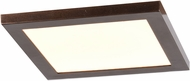 Access 20814LEDD-BRZ-ACR Boxer Modern Bronze LED 7.5  Ceiling Lighting Fixture